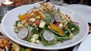 Avokadolu Körpe Semizotu Salatası