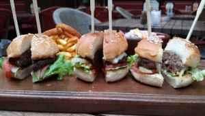 Mini Burger Trio